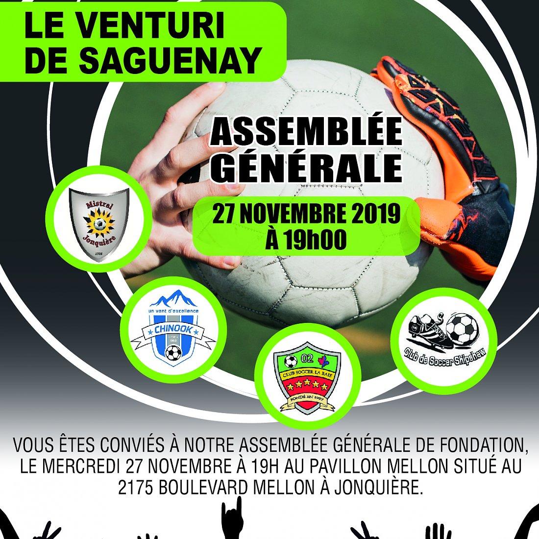 Assemblée générale de fondation du Venturi de Saguenay