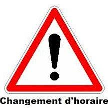 Changement gymnase - camps évaluation 13-14 avril 2019
