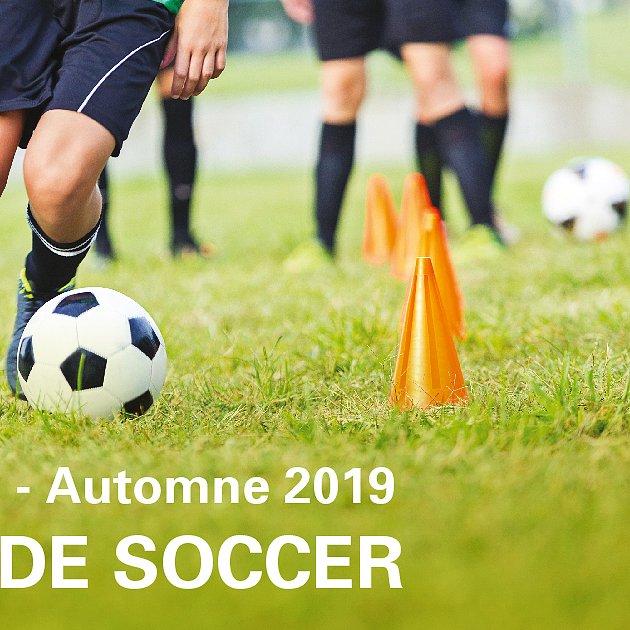 Inscription soccer automne-hiver